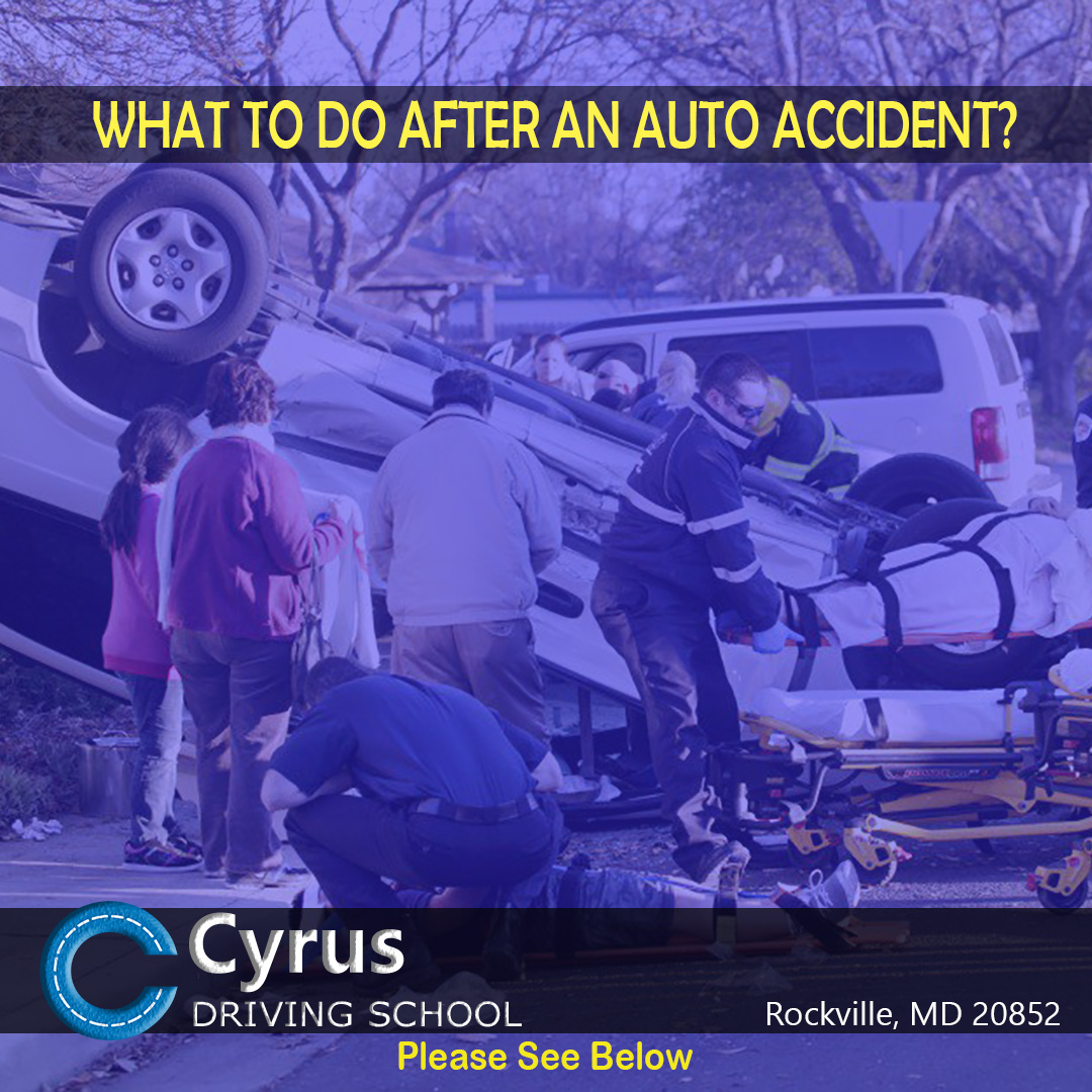 What to do after an Auto Accident?